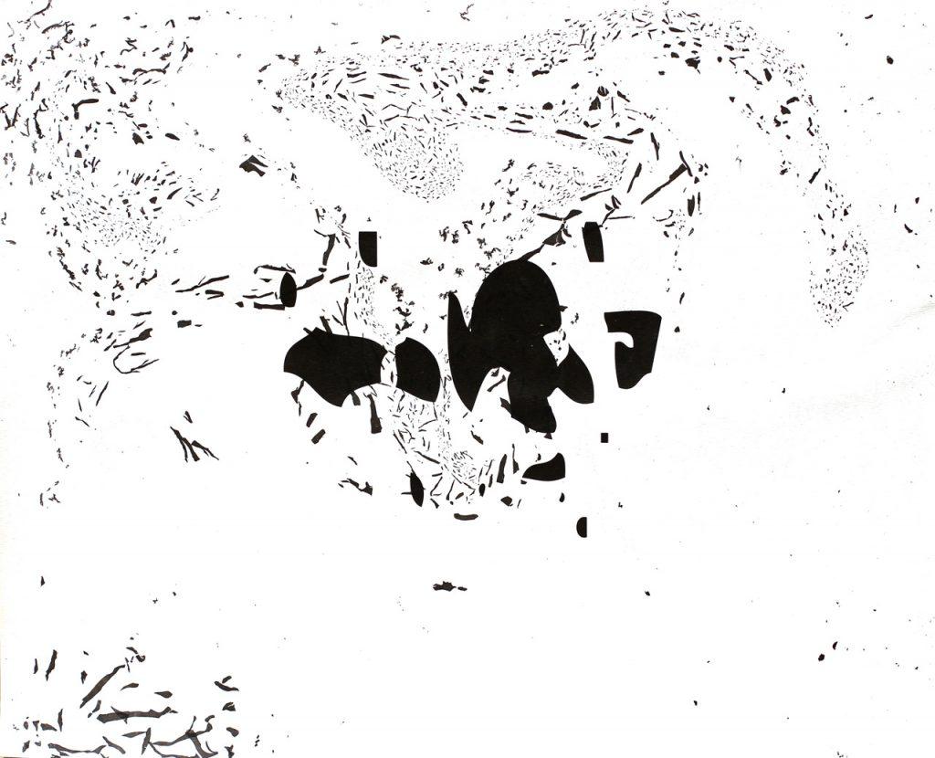 Kiss Botond András zaj 4 vektorgrafika és tusmárványozás suminagashi