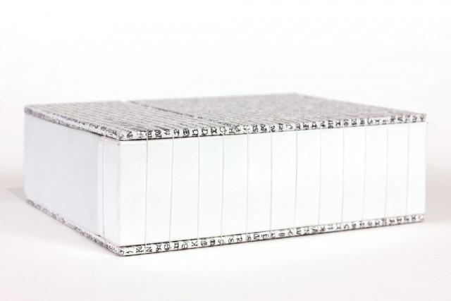 Kiss Botond András Illeszkedés művészkönyv könyvobjekt 2020 Új művek-új arcok B32 Galéria